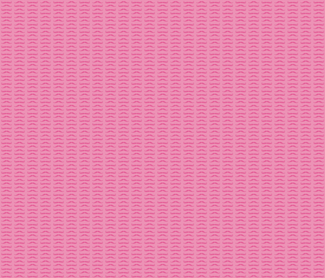 Secret Stache - Pink fabric by milktooth on Spoonflower - custom fabric