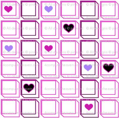 Arrayed Loved Squared! -  © PinkSodaPop 4ComputerHeaven.com