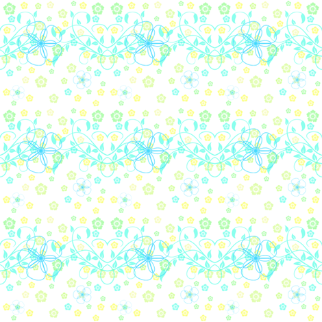 Royal Vines Bright Day! - © PinkSodaPop 4ComputerHeaven.com  fabric by pinksodapop on Spoonflower - custom fabric