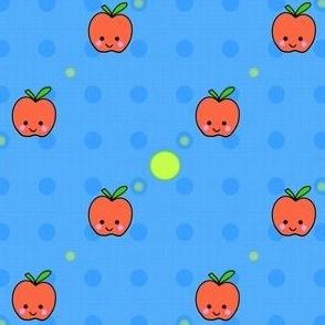 Apples! - Hawaii Kawaii Sweet Fruits - © PinkSodaPop 4ComputerHeaven.com