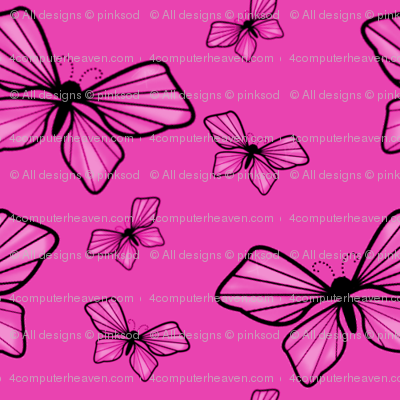 One Googillion Fluttering Pinks!  - © PinkSodaPop 4ComputerHeaven.com