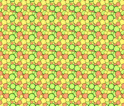 Citrus Punch! - © PinkSodaPop 4ComputerHeaven.com fabric by pinksodapop on Spoonflower - custom fabric