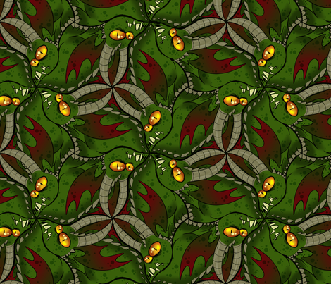 dragon_tess fabric by garmonsway_designs on Spoonflower - custom fabric