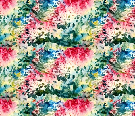 Water Foil fabric by helenklebesadel on Spoonflower - custom fabric