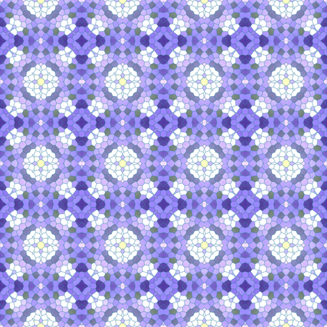 Jacaranda Petal Carpet fabric by inscribed_here on Spoonflower - custom fabric