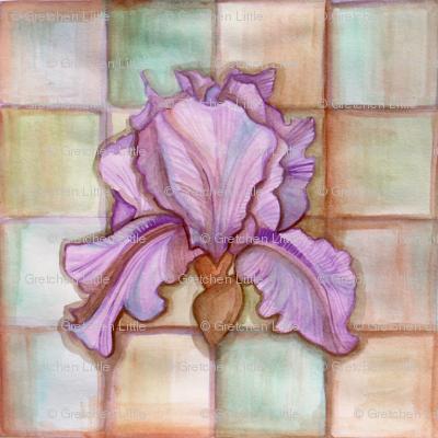 Iris Watercolor