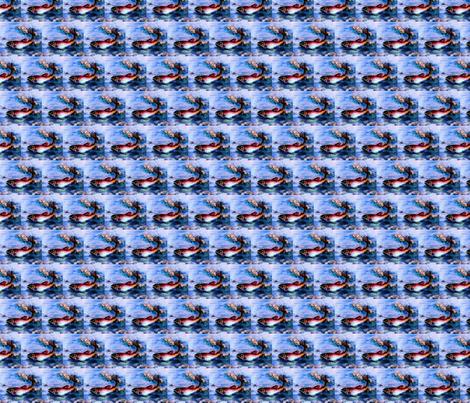 Fleur-de-lis trout fabric by paragonstudios on Spoonflower - custom fabric