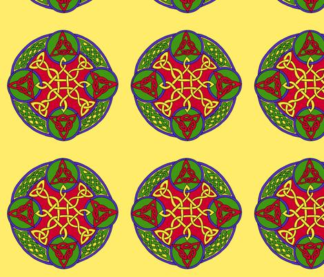 mandala16d fabric by ingridthecrafty on Spoonflower - custom fabric