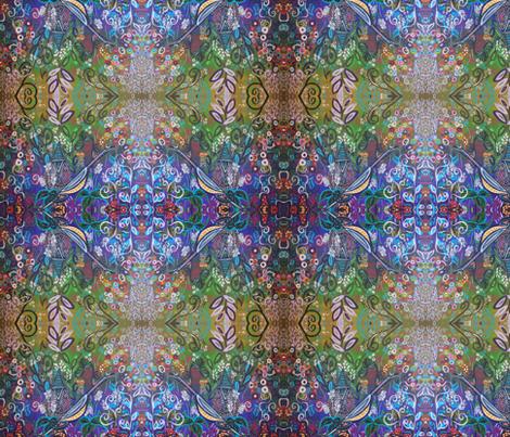 Alice's Secret Garden fabric by kristenstein on Spoonflower - custom fabric