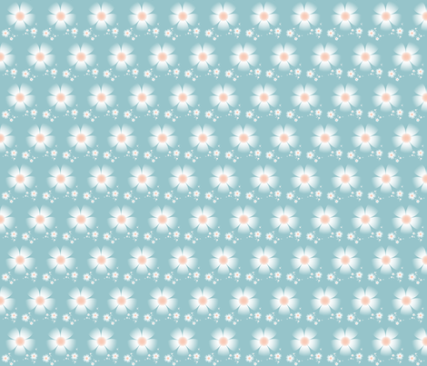 Blush fabric by winter on Spoonflower - custom fabric
