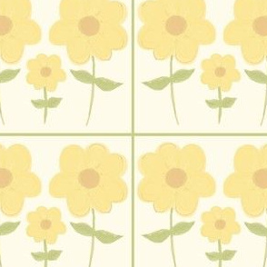 Flowers: calm yet creative