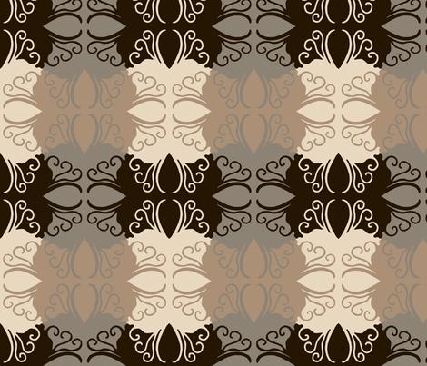 Cutwork_Tessellation_Industrial fabric by cksstudio80 on Spoonflower - custom fabric