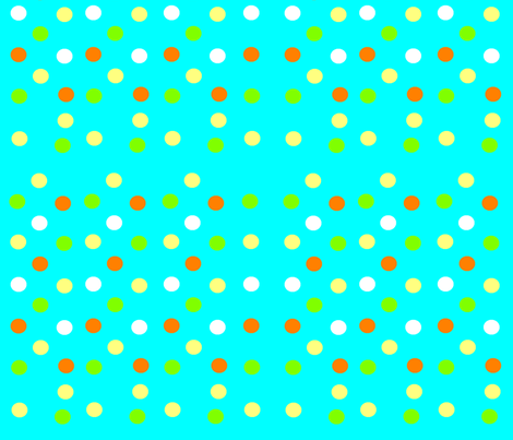 Tropical dots fabric by lyndsey2360 on Spoonflower - custom fabric