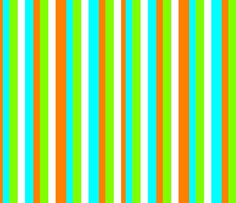 Tropical stripes fabric by lyndsey2360 on Spoonflower - custom fabric