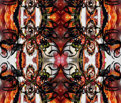 ROOSTER RUMBLE fabric by paragonstudios on Spoonflower - custom fabric