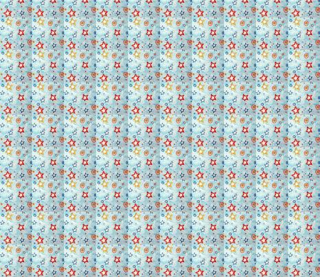 Star Drops fabric by lari on Spoonflower - custom fabric