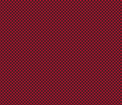 Whirlygig-red and black fabric by blueberryblonde on Spoonflower - custom fabric