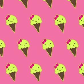 Girly Ice Cream Cones