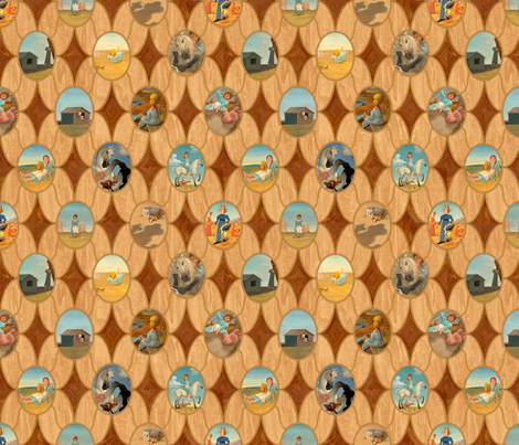 Dust Devil pattern fabric by paul-ny on Spoonflower - custom fabric