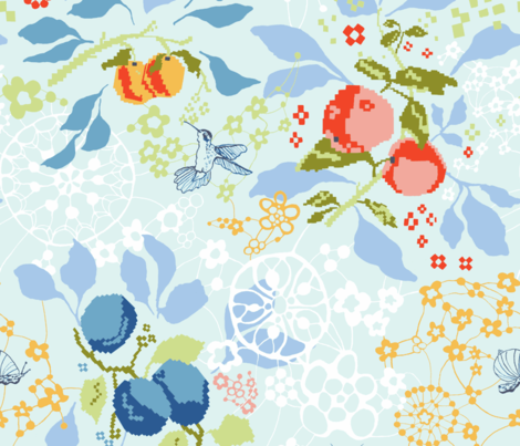 CRAFTY fabric by betsyolmsted on Spoonflower - custom fabric