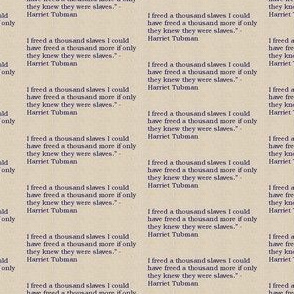 Freedom Harriet Tubman Quote-Blue-178