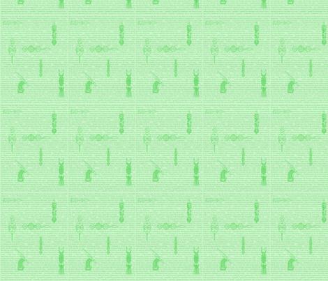 African Proverbs-Light Green-180 fabric by kkitwana on Spoonflower - custom fabric