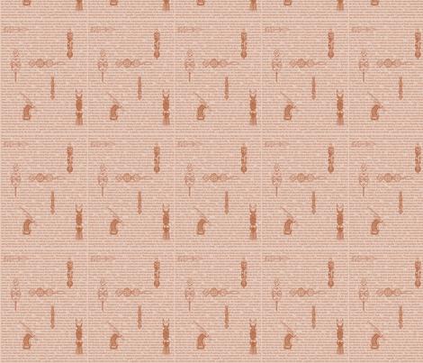 African Proverbs-Brown-184 fabric by kkitwana on Spoonflower - custom fabric