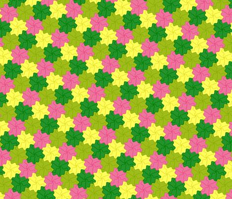 tess_flora fabric by uni_forme on Spoonflower - custom fabric