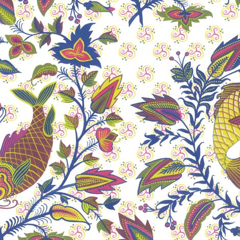 pair-o-fish-1021 fabric by eva_the_hun on Spoonflower - custom fabric