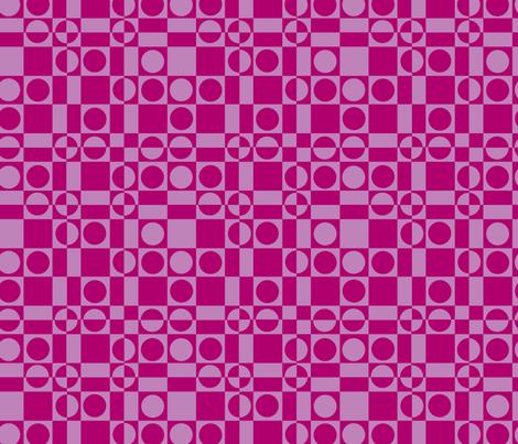 Checks Gone Wild Two-Tone fabric by cricketnoel on Spoonflower - custom fabric