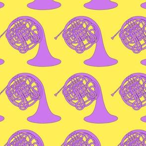 Purple Horns