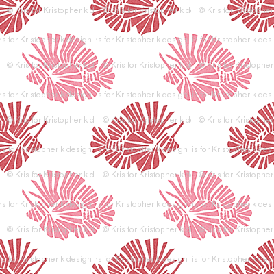 Lionfish Party Pink