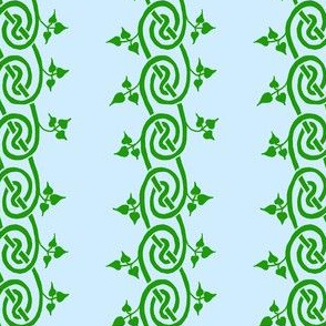 celtc iivy border green blue