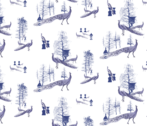 toile_check_repeat_correct fabric by hairfurkunst on Spoonflower - custom fabric