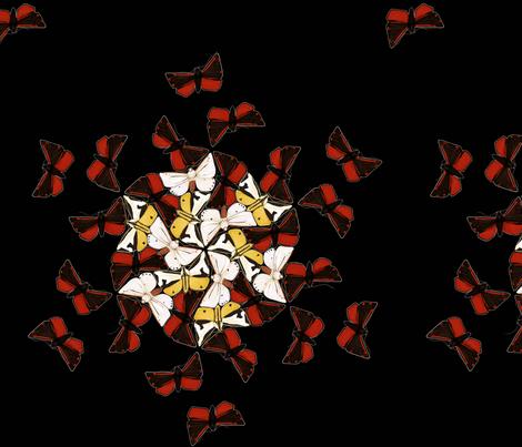 Arctiid Convergence fabric by butterwort on Spoonflower - custom fabric