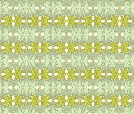 Tessellating_Cutwork_Beach_Blue_Grn_Color_Chng fabric by cksstudio80 on Spoonflower - custom fabric