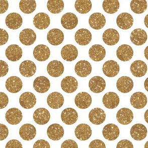 Glitter Dot Gold