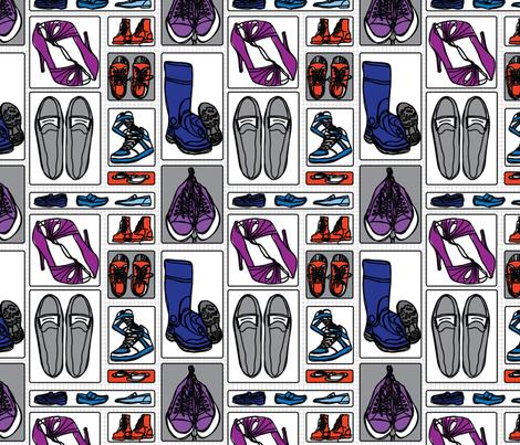 favoriteshoes fabric by circlesandsticks on Spoonflower - custom fabric