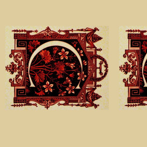 RED / BK Crest Placemats