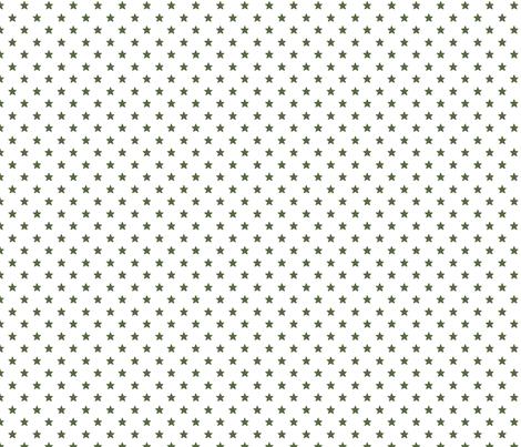 Vintage Green Stars fabric by mayabella on Spoonflower - custom fabric