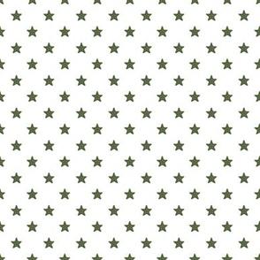 Vintage Green Stars