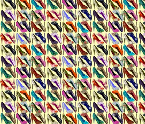 spoonflower_high_heels fabric by thursday_next on Spoonflower - custom fabric