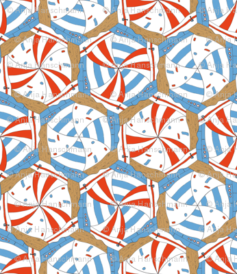 sailing boats tessellation