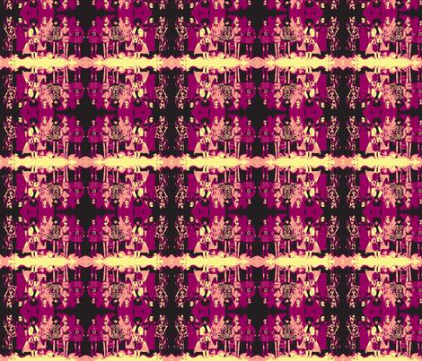 Dawn Dolls on Acid fabric by cheekadee on Spoonflower - custom fabric