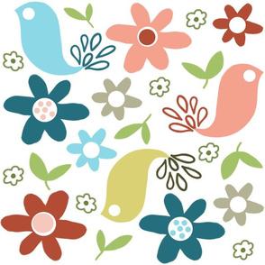 cheerful birds