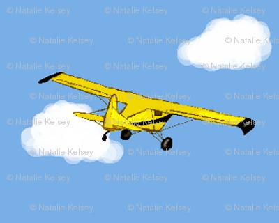 Grandpa's Yellow Airplane