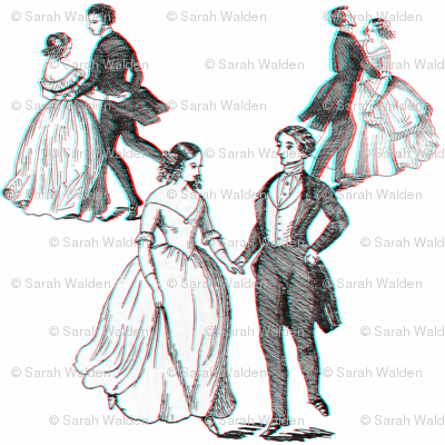 3D VictoriAnaglyph - When We Dance