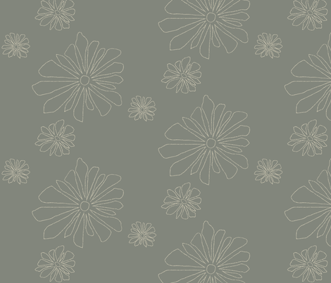 point flower fabric by avelis on Spoonflower - custom fabric