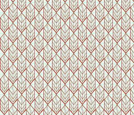 red diamonds fabric by darci on Spoonflower - custom fabric