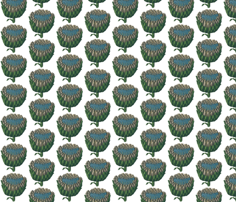globe artichoke fabric by saltlabs on Spoonflower - custom fabric